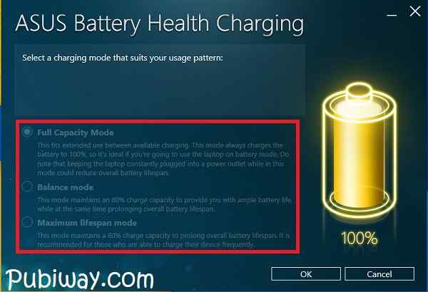 Tidak Bisa Memilih Mode Charging