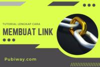 Tutorial Membuat Link
