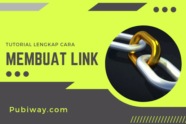 Tutorial Membuat Link