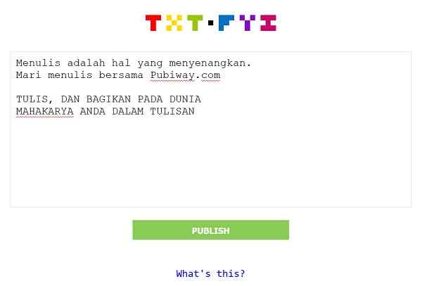Situs Txt.fyi