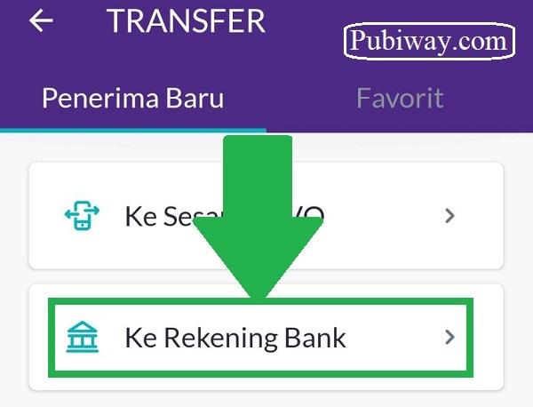 Tutorial Melakukan Transfer OVO ke Bank 2