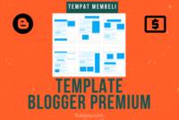 Tempat Beli Template Blogger