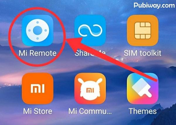 Aplikasi Mi Remote