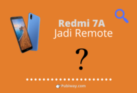 Redmi 7A jadi Remote