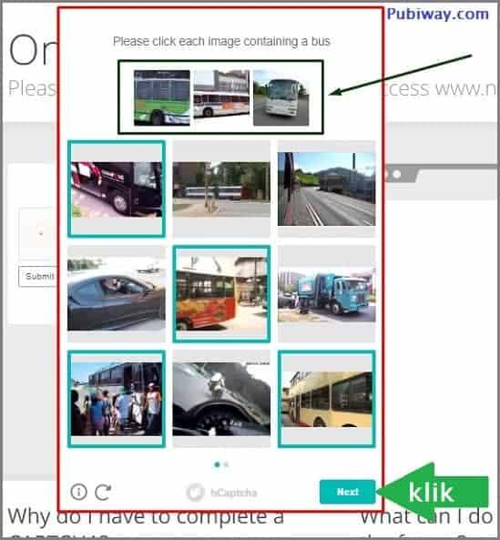 Lihat perintah dan pilih gambarnya kemudian klik tombol next