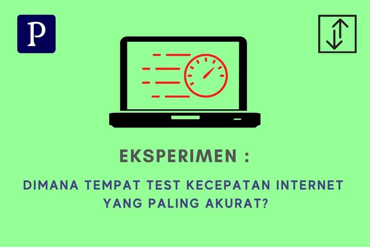 Eksperimen Test Kecepatan Internet