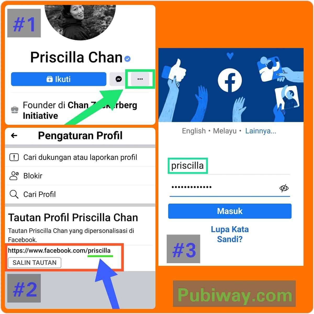 Cara Mencari Username Facebook