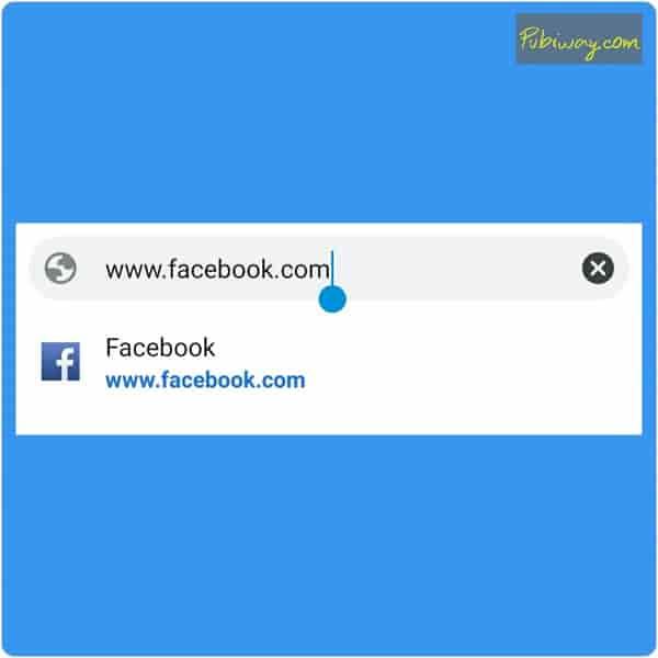 Tampilan Facebook PC di Smartphone