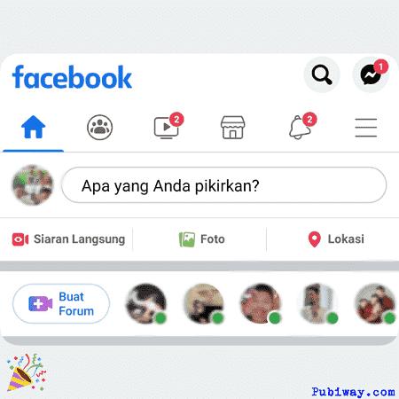 Berhasil mengganti facebook ke bahasa Indonesia