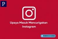Upaya Masuk Mencurigakan Instagram