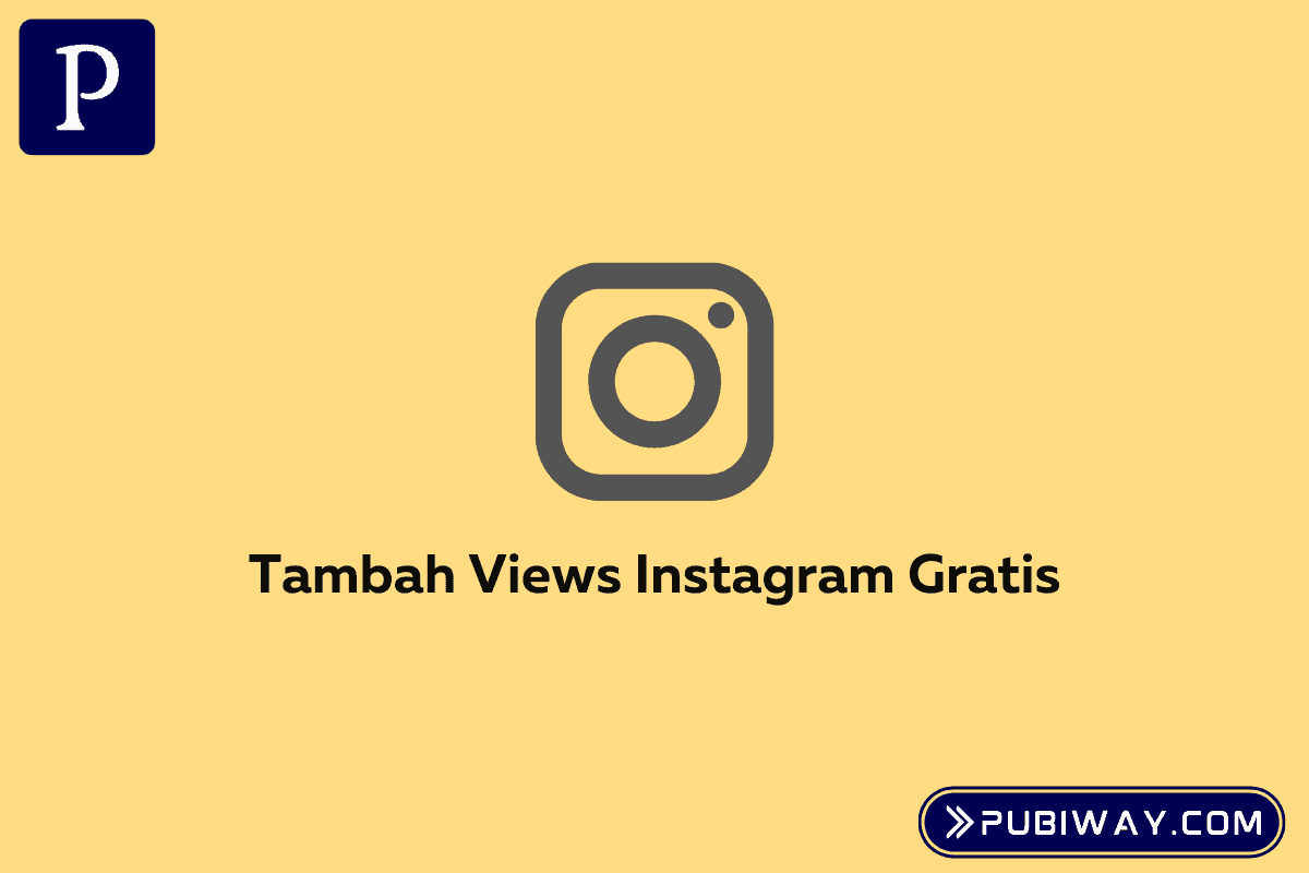 Cara Tambah Views Video Instagram Gratis