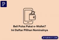 Nominal pulsa di e-wallet