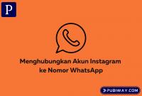 Menghubungkan Instagram ke WA