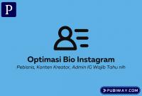 Optimasi Bio Instagram