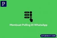 Membuat Polling di Whatsapp